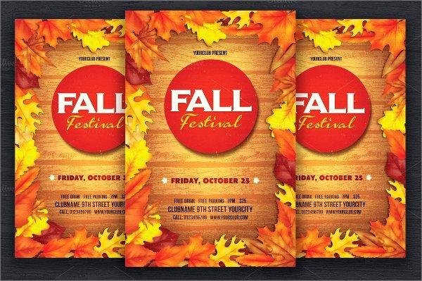 21 Fall Flyer Templates