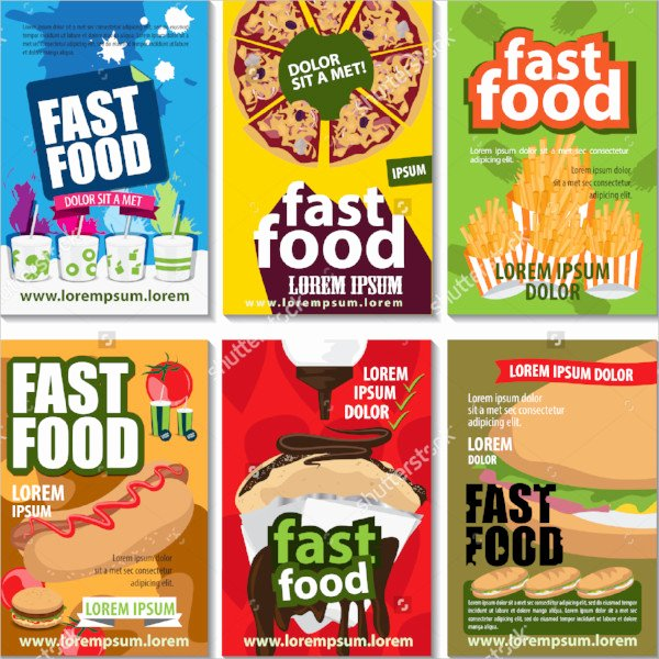 21 Food Flyer Templates