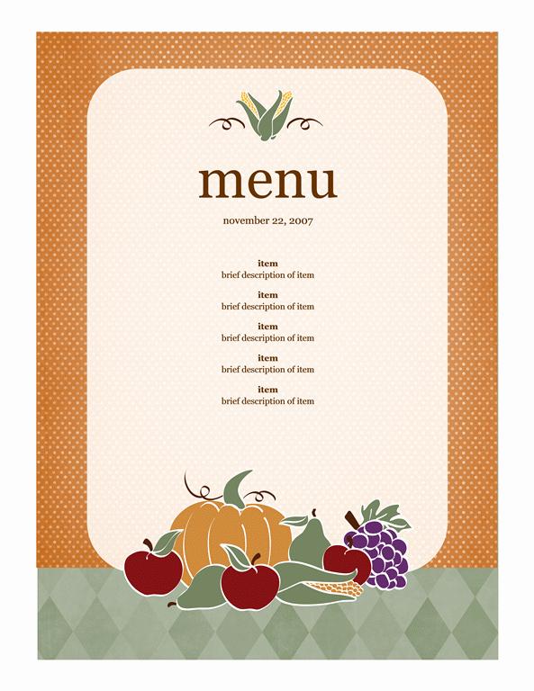 21 Free Free Restaurant Menu Templates Word Excel formats