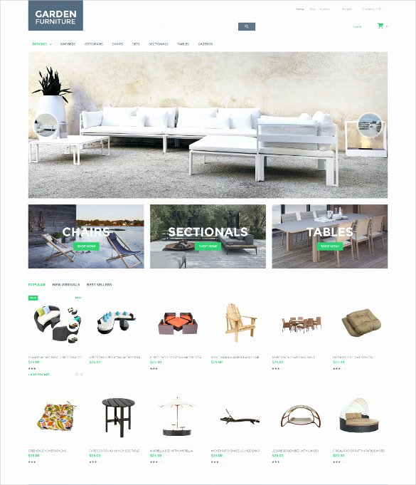 21 Furniture Bootstrap themes & Templates
