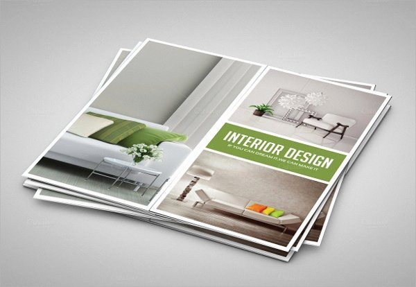 21 Gate Fold Brochure Mockups – Latter Example Template