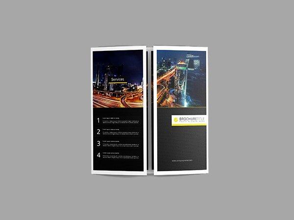 21 Gate Fold Brochure Mockups