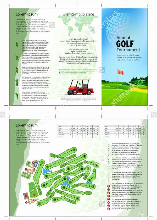 21 Golf tournament Brochures