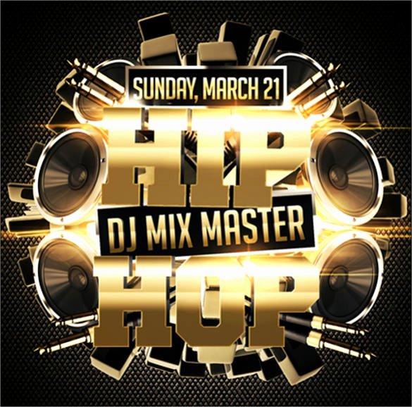 21 Hip Hop Flyer Templates