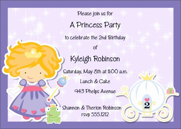 21 Kids Birthday Invitation Wording that We Can Make
