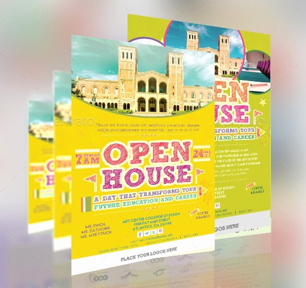 21 Open House Flyer Designs Psd Download