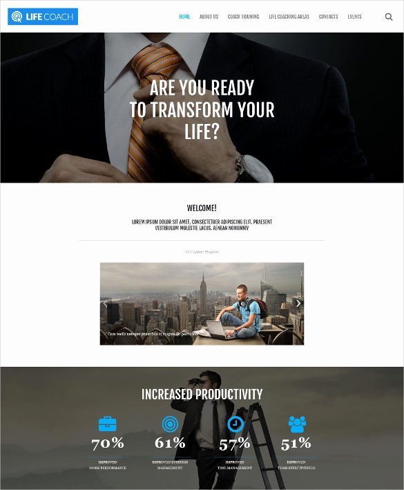 21 Personal Bootstrap themes & Templates