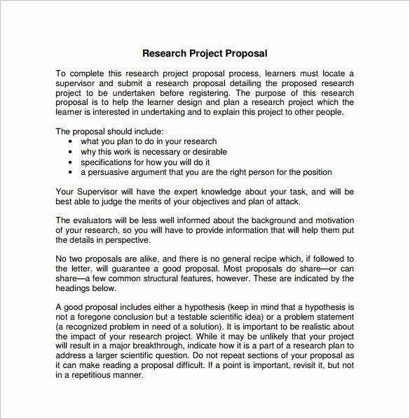 21 Project Proposal Templates Pdf Doc