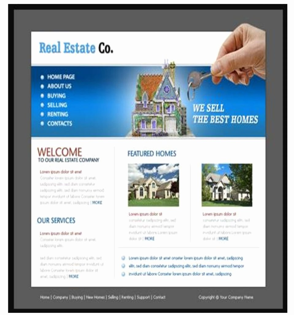 21 Real Estate Websites Free themes and Templates