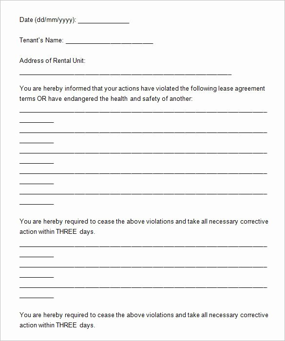 21 Sample Eviction Notice Templates Doc Pdf
