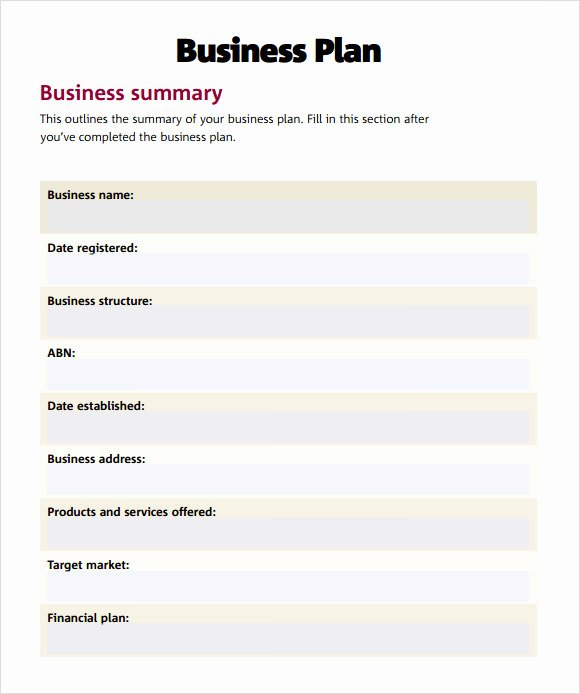 21 Simple Business Plan Templates