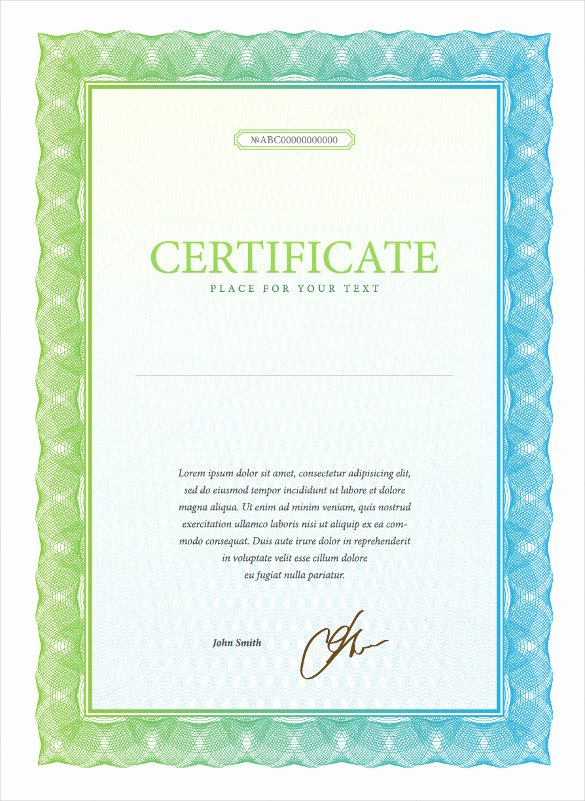 21 Stock Certificate Templates Psd Vector Eps