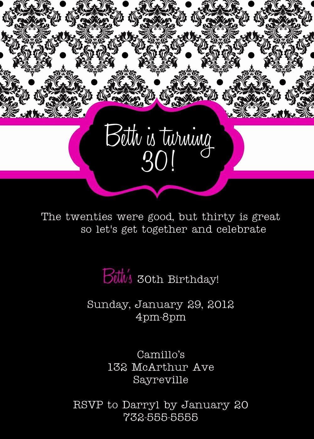 21st Birthday Invitation Templates Line Templates