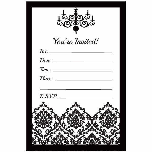 21st Invitation Templates Black and White Templates Resume Examples 9rgnl7dyxb