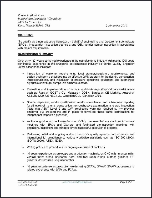 22 Awesome Sample Resume for Experienced Mechanical