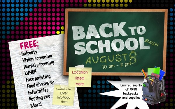 22 Back to School Flyers Free Psd Ai Eps format