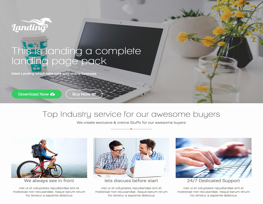 22 Best Bootstrap Landing Page Templates 2016 Readytheme