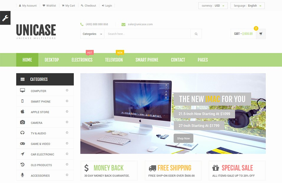 22 Best Electronic Website Templates & themes