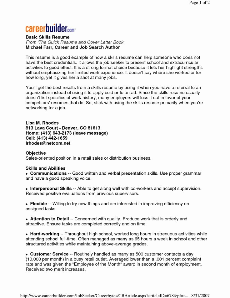 22 Best Images About Basic Resume On Pinterest