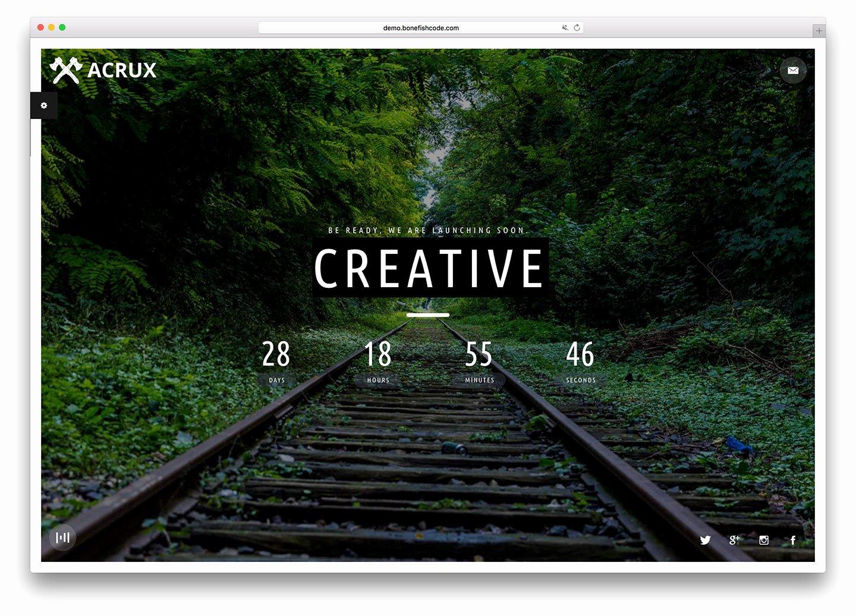 22 Best Ing soon HTML5 Website Templates 2018 Colorlib