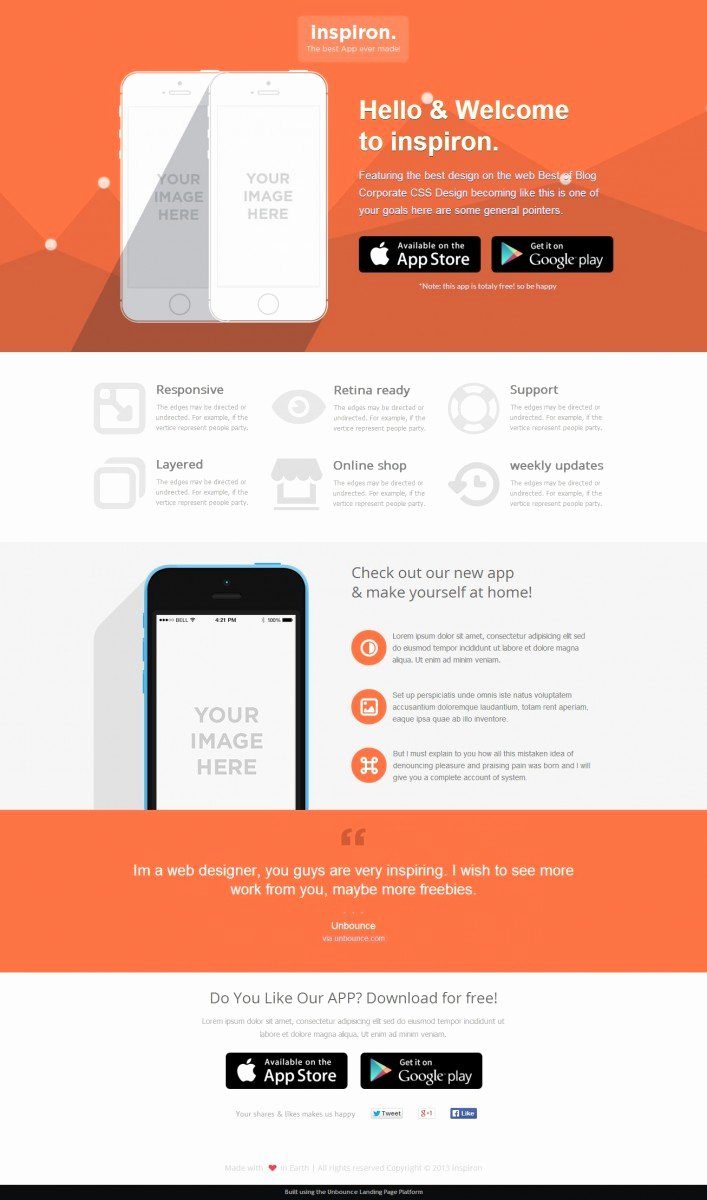 22 Best Unbounce Landing Page Templates Full Page Previews