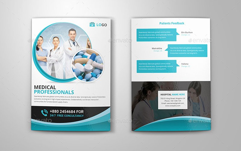 22 Bi Fold Brochure Psd Templates