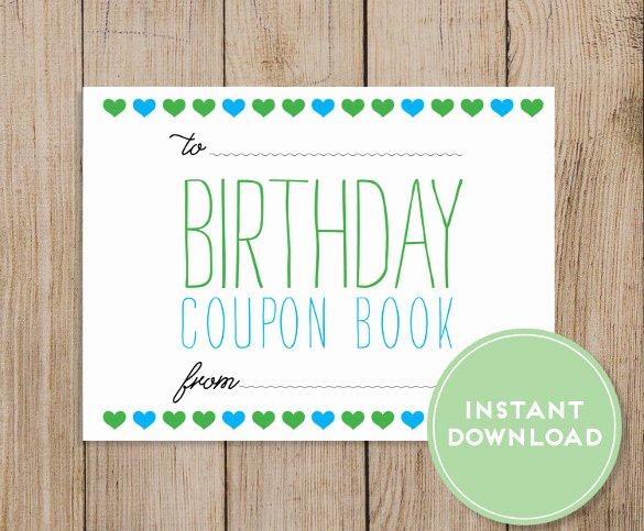 22 Birthday Coupon Templates Psd Ai Vector Eps