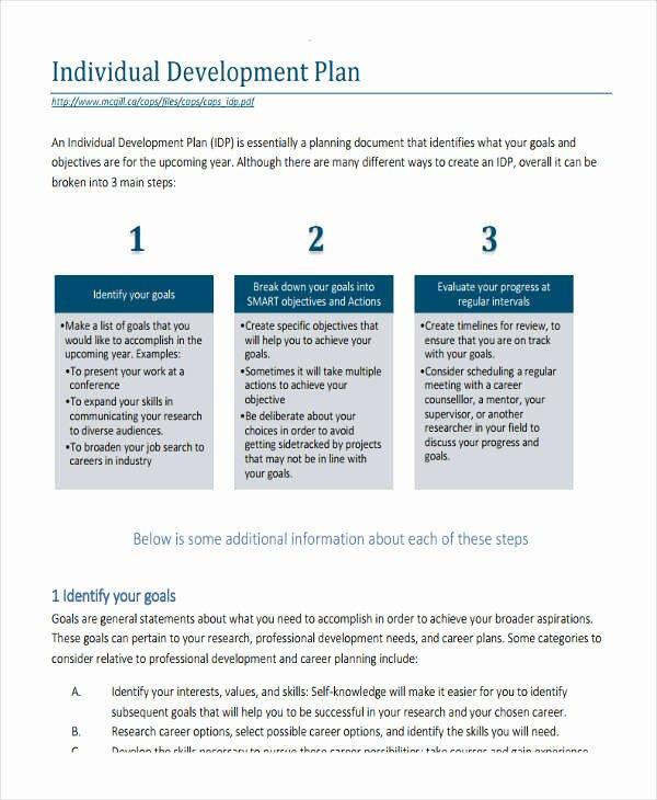 22 Development Plan Templates