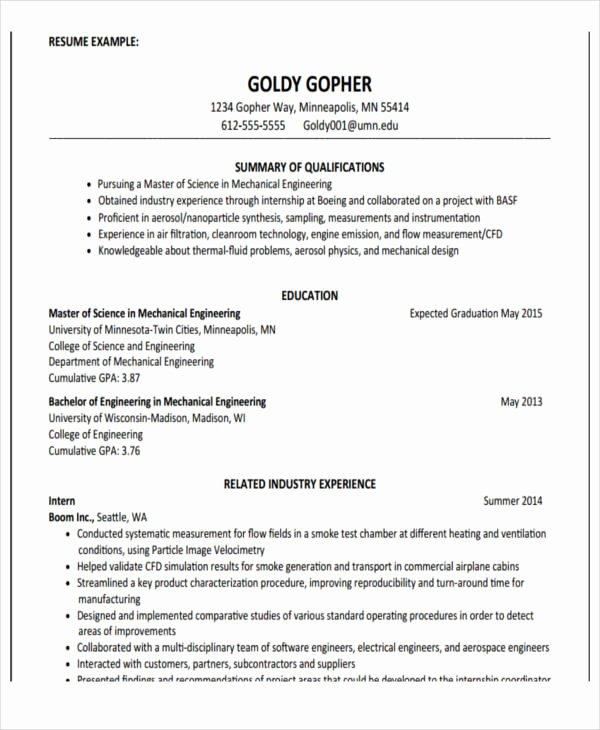 22 Education Resume Templates Pdf Doc