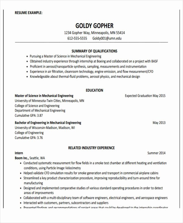 22 Education Resume Templates Pdf Doc