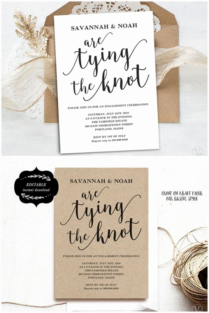 22 Engagement Party Invitations You Ll Want to Say Yes to