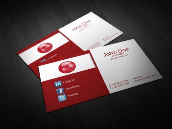 22 Folded Business Cards Psd Ai Vector Eps