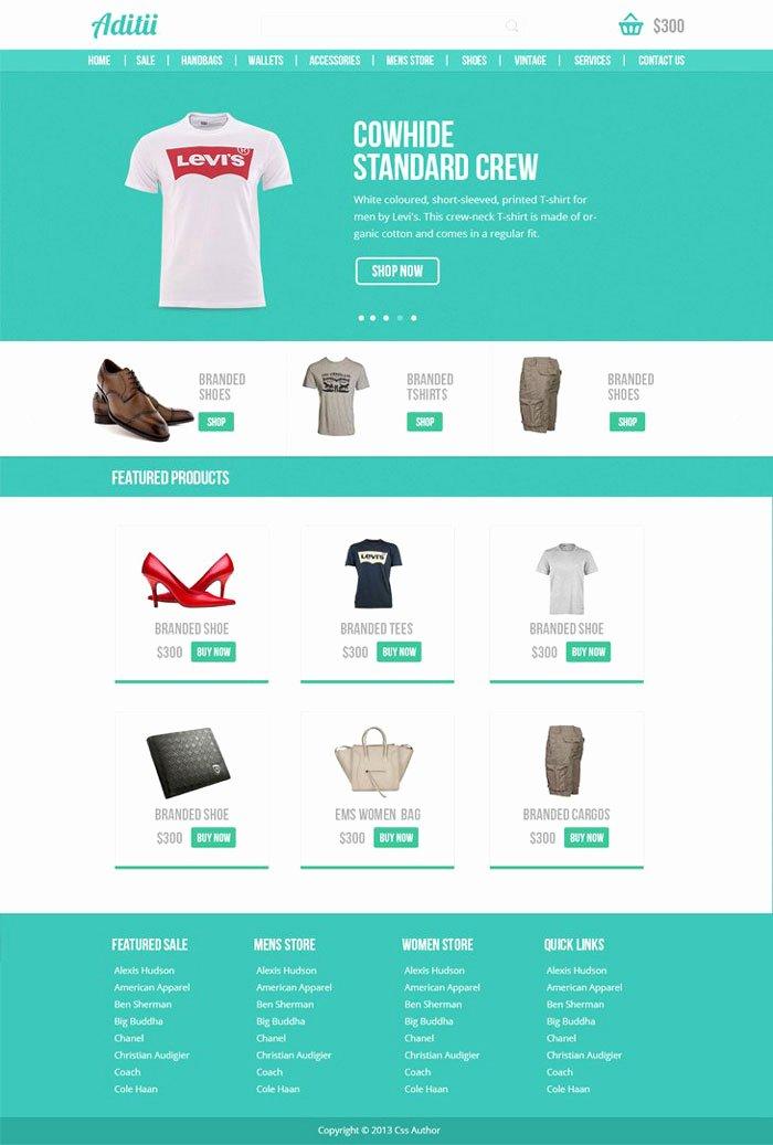 22 Free E Merce Psd Website Templates Designyep