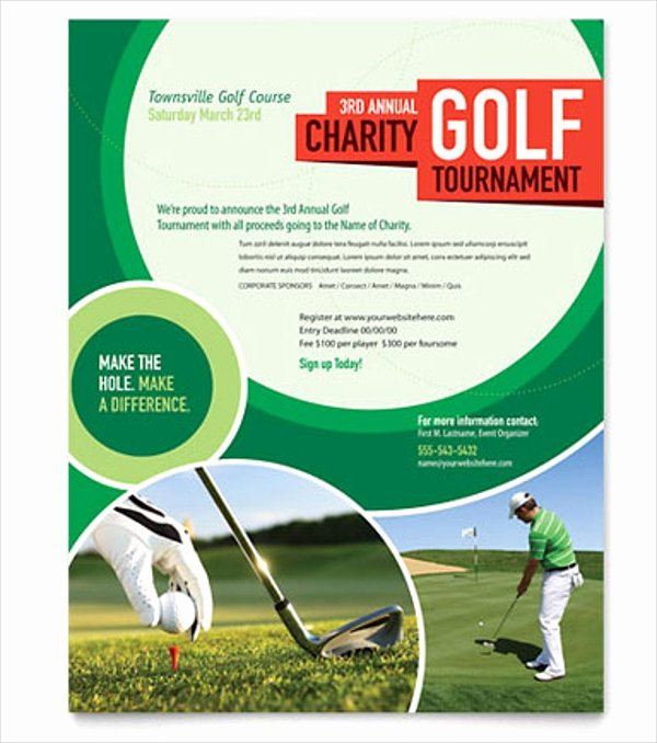 22 Golf Flyer Templates Free Psd Ai Eps format