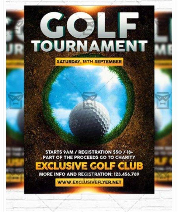 22 Golf Flyer Templates Free Psd Ai Eps format