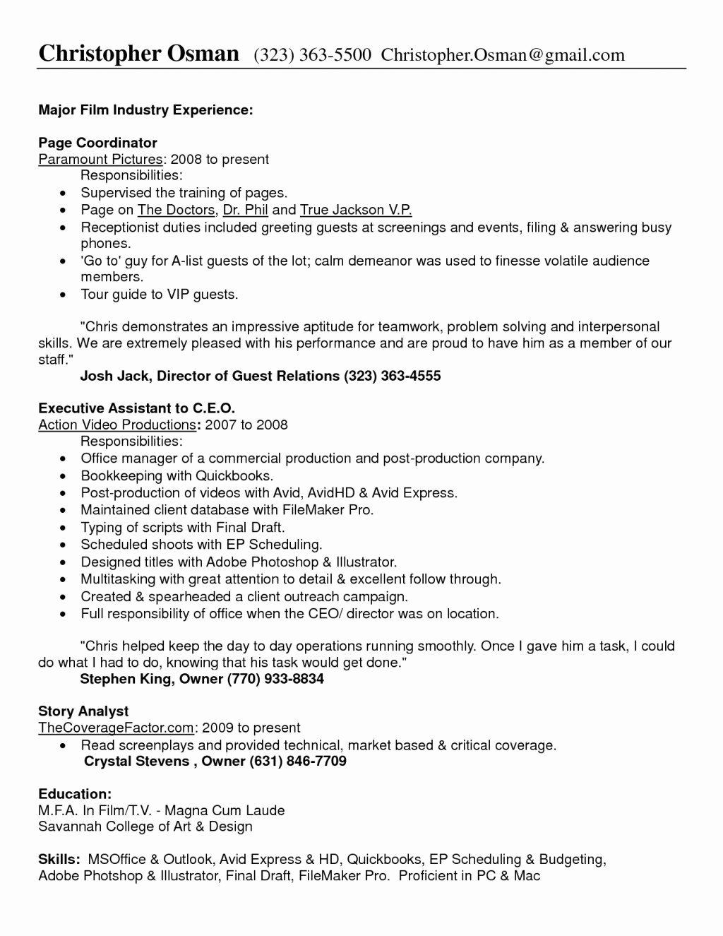 22 Luxury Medical Fice Manager Resume