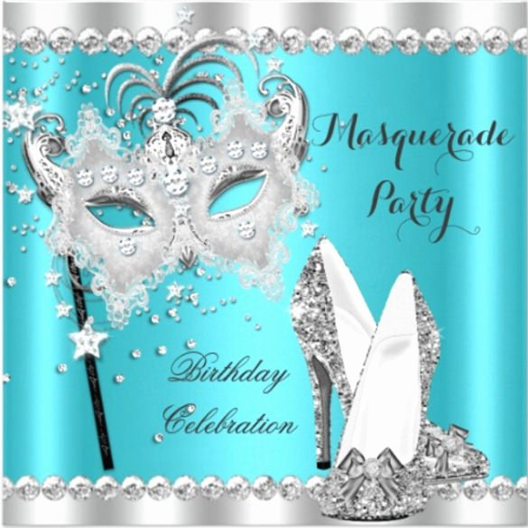 22 Masquerade Invitation Template Free Psd Vector Eps