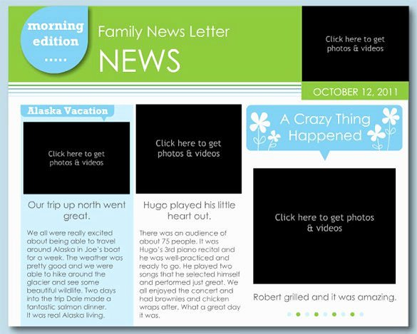 22 Microsoft Newsletter Templates – Free Word Publisher