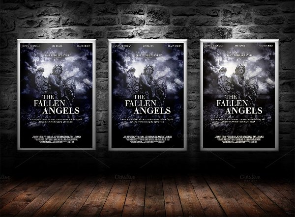 22 Movie Posters Free Psd Ai Vector Eps format