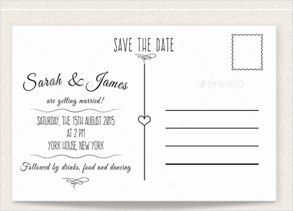 22 Save the Date Postcard Templates – Free Sample