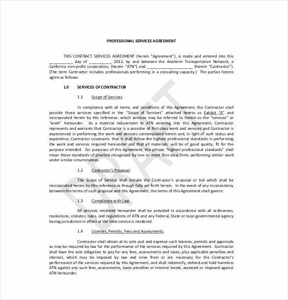 22 Service Agreement Templates Word Pdf