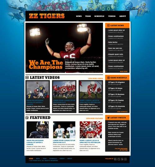 22 Sports HTML Website Templates Free & Premium Download