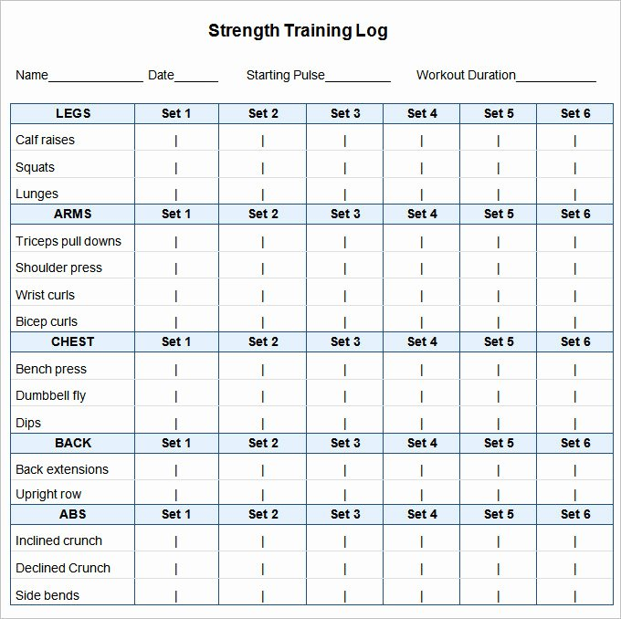 22 Workout Schedule Templates Pdf Doc