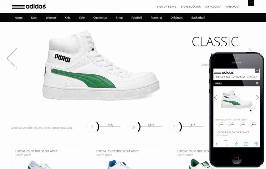 23 Best E Merce Shopping HTML5 Css3 Templates to Sell