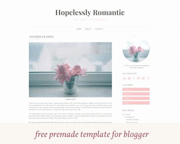 23 Best Images About Blog Template On Pinterest