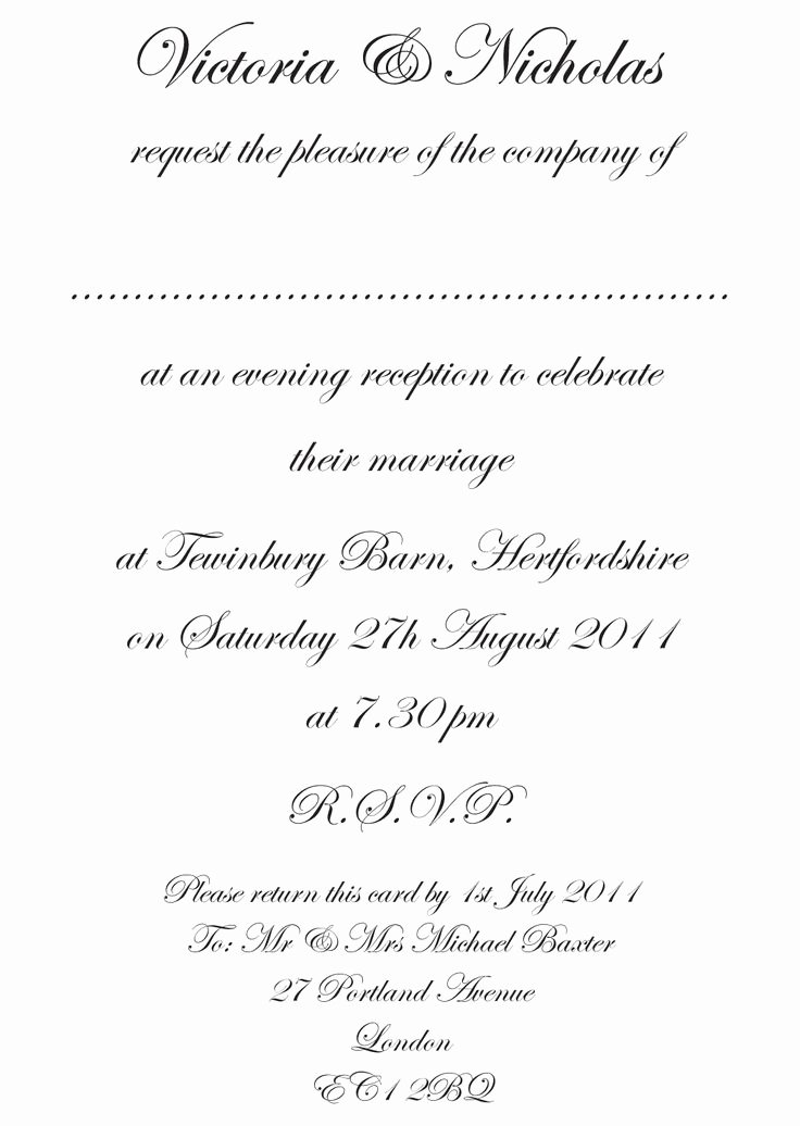 23 Best Images About Wedding Invitation Wording On