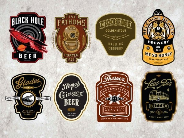 23 Bottle Labels Psd Vector Eps Jpg Download