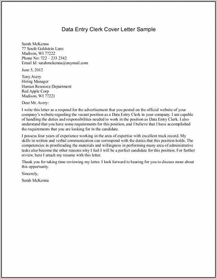 23 Cover Letter Template for Cover Letters for Entry Level