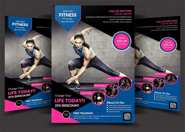 23 Fitness Flyer Templates Free & Premium Download