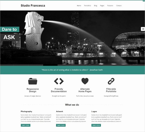 23 Free HTML5 Website themes & Templates
